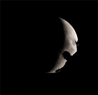 centrant la lluna
